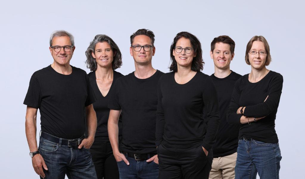 Team grischconsulta: R. Zegg, A. Gschwind, E. Grämiger, C.Heinrich, M. Hartmann, U. Pletscher