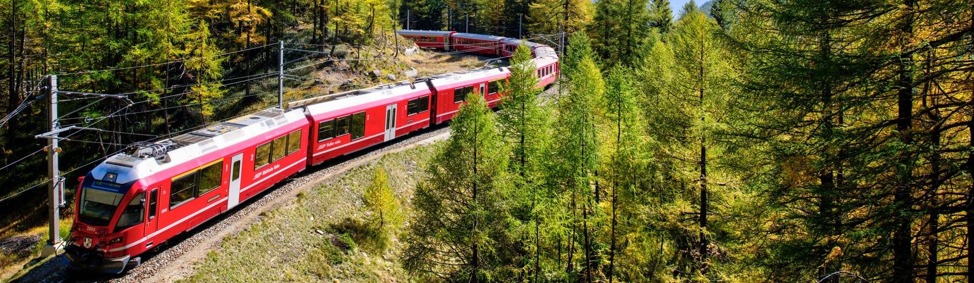 Rhätische Bahn - alpine Mobilität